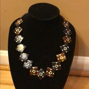 Jewelry - Beautiful wooden necklace!